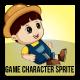 Farmer Boy Sprite Character
