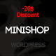 MiniShop - Multipurpose  <hr/> Minimal e-Commerce WordPress Theme&#8221; height=&#8221;80&#8243; width=&#8221;80&#8243;> </a> </div> <div class=