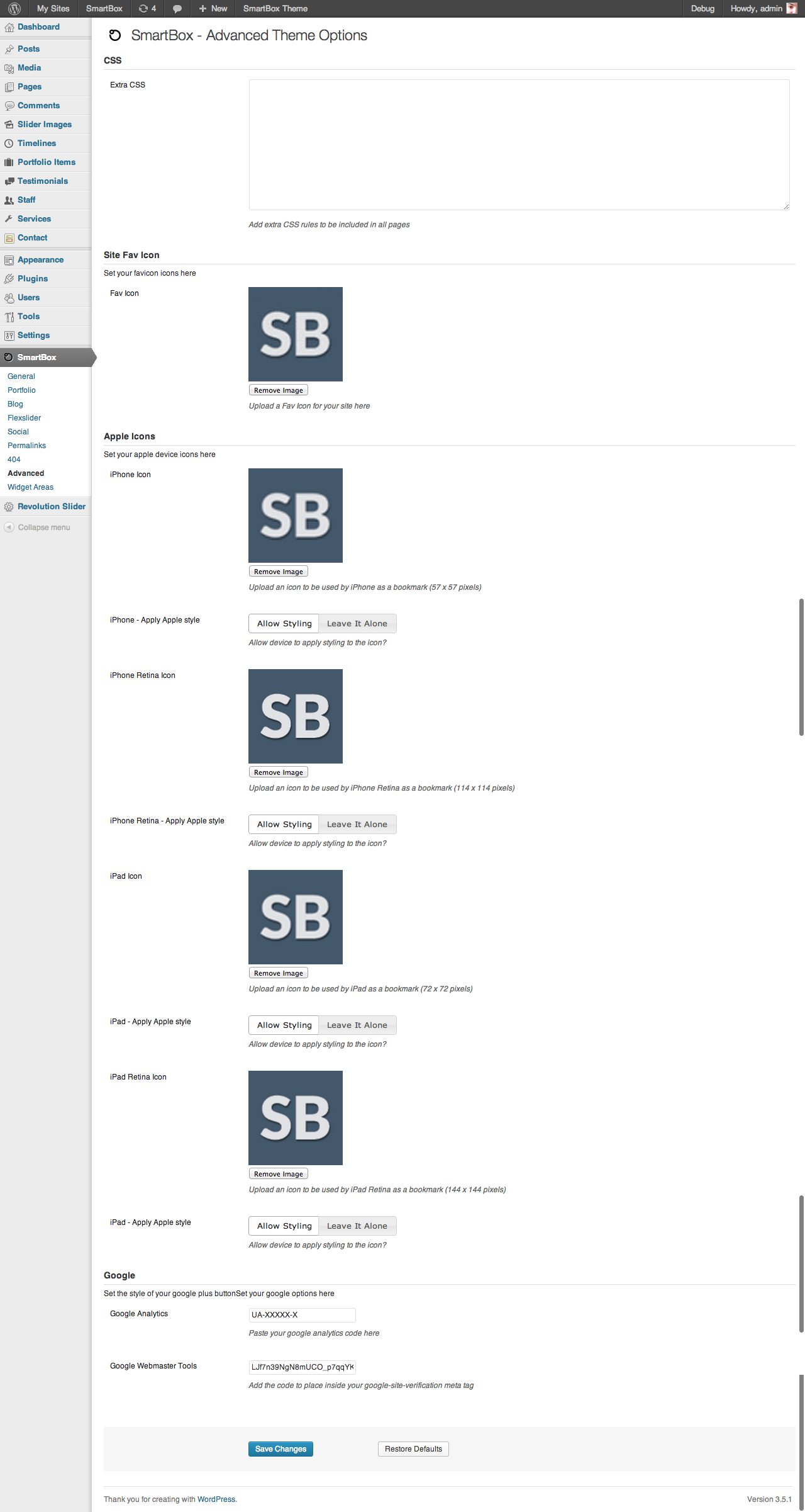 Gmail theme css - Smartbox Responsive Wordpress Bootstrap Theme