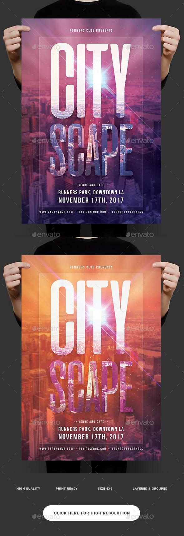 Urban CityScape Flyer