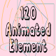 120 Animated Element
