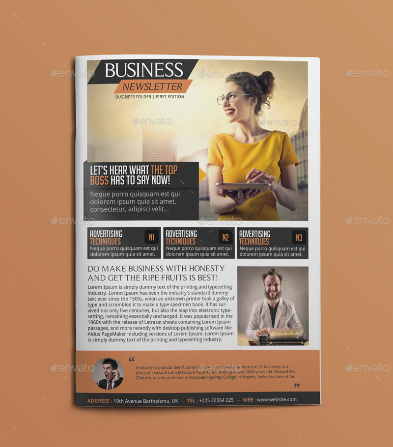 Business Newsletter by BloganKids – Business Newsletter