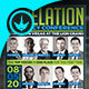 Revelation Prophecy Conference Flyer Template