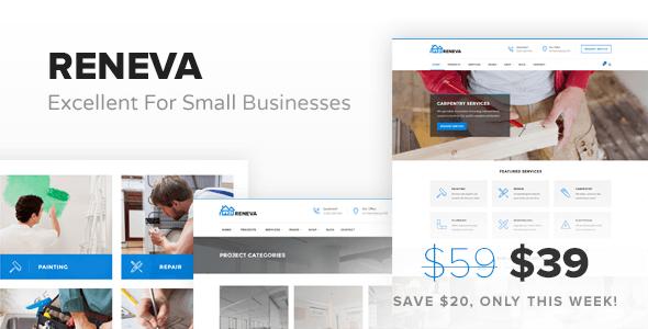 Reneva - Small Business WordPress Theme