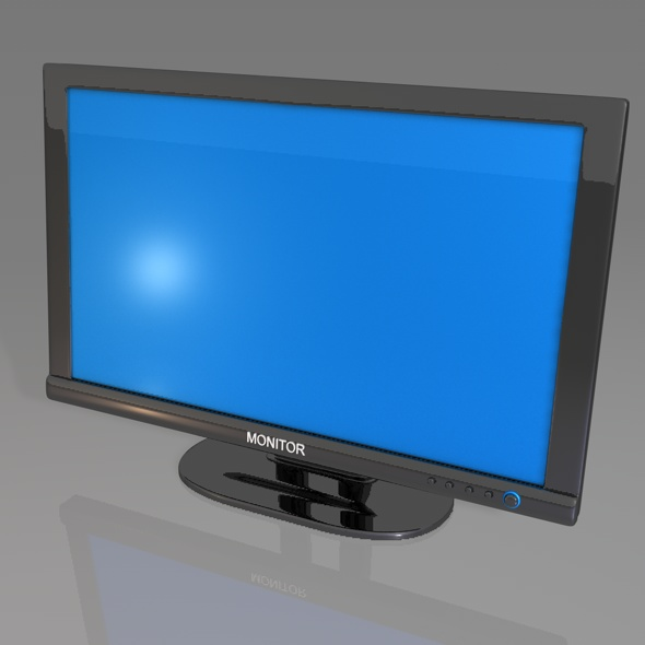 3DOcean Widescreen Monitor 70892
