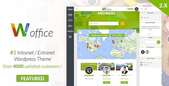 15 Mejores Temas de WordPress BuddyPress para crear una comunidad o web social 3
