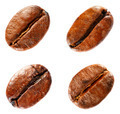 Coffee beans isolated on white background. Set. - PhotoDune Item for Sale