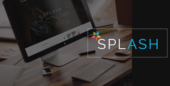 SPLASH - Creative Muse Template