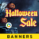 Halloween Sale Banners - Image Included
