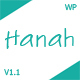 Hanah - A Responsive WordPress Blog Theme