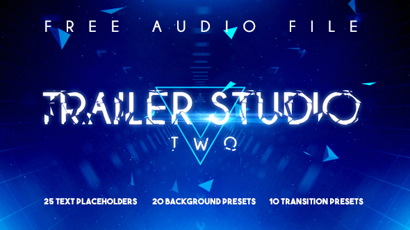 Trailer Studio Two - Titels and Backgrounds (Commercials)
