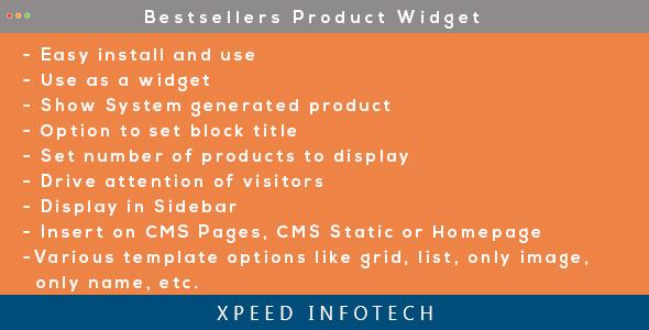 Magento 2 Bestsellers Product Widget