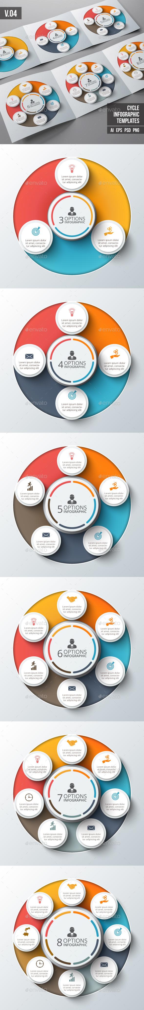 Infographics template set v.04