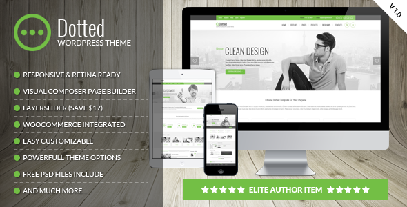 Download Dotted - Corporate Multipurpose WordPress Theme nulled download