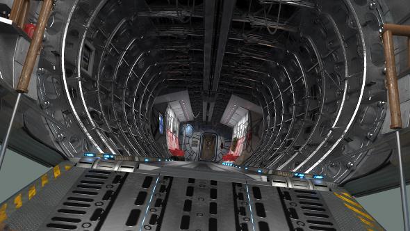 Download Cargo Aircraft Interior Flytrough Inside nulled download