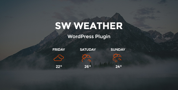 SW Weather – WordPress Weather Forecast Plugin (Utilities) Download