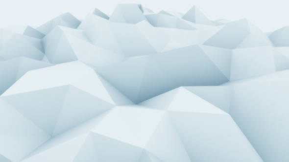 Download Low Poly Blue Abstract Polygonal Motion Background nulled download