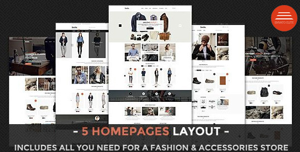 Smile - Responsive Shopify Theme