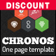 Chronos - One Page HTML Responsive Template With Hexagons and Parallax Effects