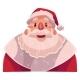 Santa Claus Face, Wow Facial Expression