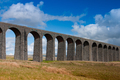 Ribblehead Viaduct in the Yorkshire Dales,England