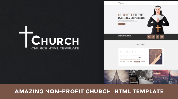 Church Non Profit Html Template Bestwpthemes