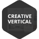 Creative Vertical - PowerPoint Template