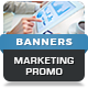 Animated HTML5 Web Marketing Promo Banners Ads