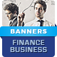 Finance & Business Banner Ads - HTML5 Animated GWD