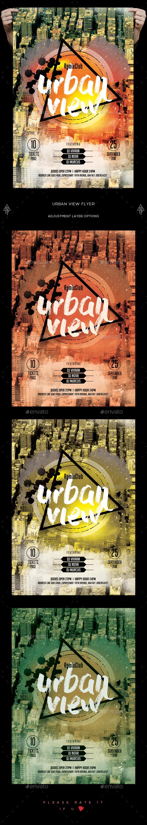 Urban View Flyer