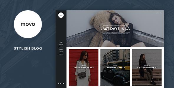 Movo - Stylish Blog Template