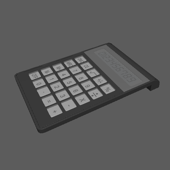 Highpoly Calculator - 3DOcean Item for Sale