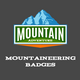 Mountaineering Labels And Badges