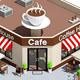 Low Poly Coffee Shop