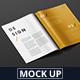 Magazine Mockup - US Letter 8.5x11 inch