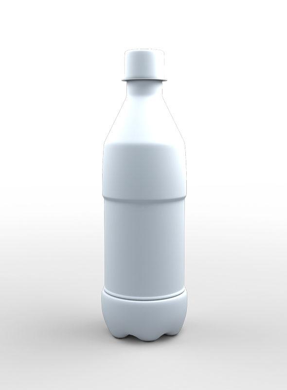 Bottle 3d Model - 3DOcean Item for Sale