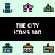 The City Icons 100