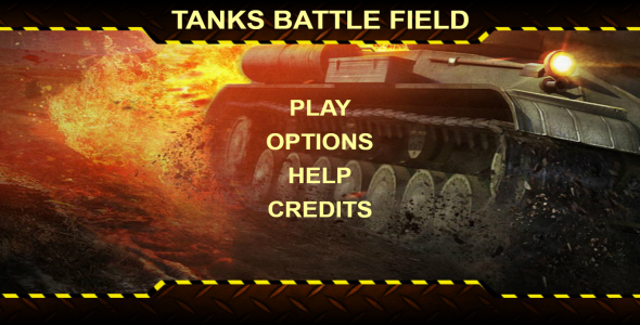 Tanks Battle Field - HTML 5 Game