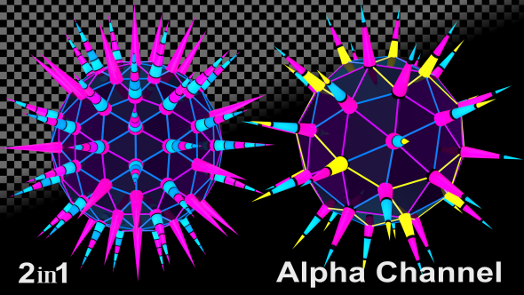 VideoHive Abstract Disco Ball 2-Pack 18458978