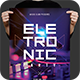 Electronic DJ Flyer