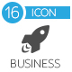 Business Startup Flat Icons