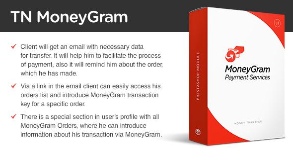 MoneyGram - PrestaShop module
