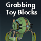 Grabbing Toy Blocks