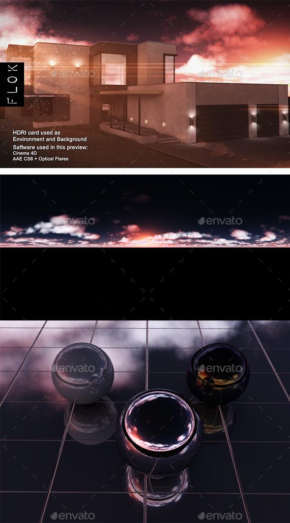 Sunset Desert 83 - 3DOcean Item for Sale