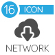 Network Flat Icons