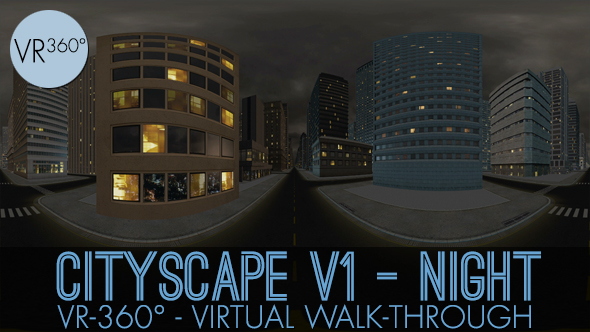 Download VR-360° Cityscape V1 Night nulled download