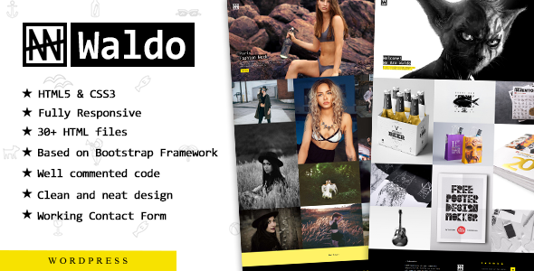Waldo - Creative Responsive Portfolio Theme