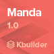 Manda- Multipurpose Email Template + Builder 1.0