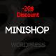 MiniShop - Multipurpose, Minimal e-Commerce WordPress Theme