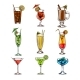 Set of Cocktail Glasses